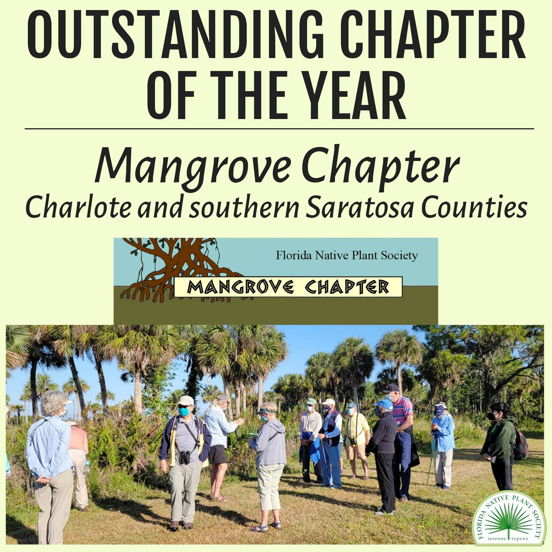 Outstanding Chapter of the Year